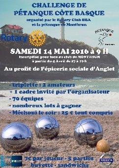 Pétanque – 14 mai 2016